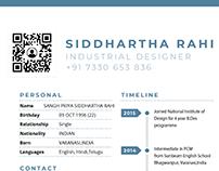 Resume : Siddhartha Rahi