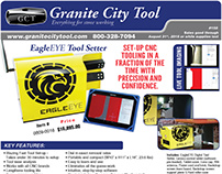 Granite City Tool July-August Fabrication Flyer 2016