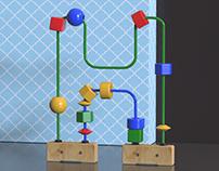 36days bead maze