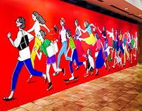 RUNNING GIRLS(& BOYS )___ Wall Exhibition