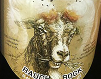 Samuel Adams Cinder Bock Rauchbock 22 oz. Label