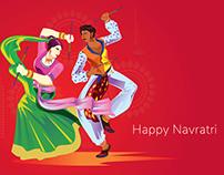 Happy Navratri - Indian Great Festival