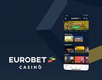 Ux/UI - Eurobet Casinò
