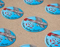 Hidden Valley Camp Stickers