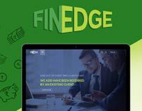 Finedge-Website concept