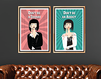 Mia Wallace - Illustration