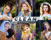 Clean Portrait Presets