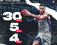 Blake Griffin #23 | 30 Points
