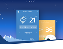Weather Track | Weather App for ios and Anroid