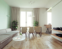 FILYOVSKAYA: APARTMENT WITH MIRROR BEAMS