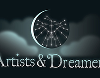 Artists and Dreamers Art Supply Store Logo