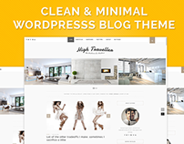WordPress Responsive & Clean Blog Theme to Download