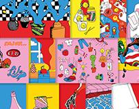 Summer Illustrations 2016