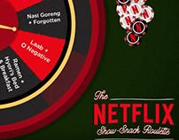 Netflix Show-Snack Roulette!