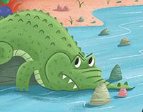 Storytime Magazine - The Monkey and the Crocodile