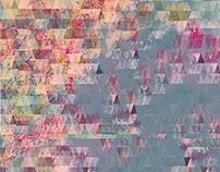 Geometric Print Using Paint