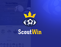 ScoutWin web app and interaction design