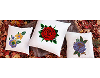 Beautiful Flowers Embroidery Designs