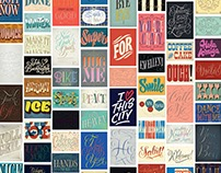 Letter Collections - 100 postcards