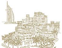 Jumeirah Ramadan Illustrations