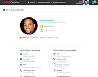 Webdesign - Application annuaire d'entreprise