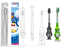 product penguin tooth brush