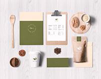 NAÏVE YARD 挑豆院 咖啡品牌識別設計