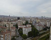 AP Gayrimenkul Kat Manzarası Havadan Fotoğraf Çekimi