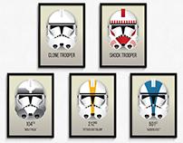 Star Wars Clone Trooper Battalion Markings