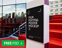 Free Film Festival  Poster Mock-Up 2