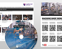 Machine Shop Video Demos for Loughborough University