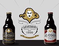Leucosia \\ beer label