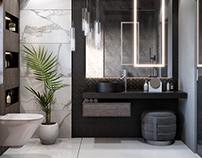 Modern bathroom Kuwait city