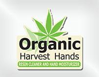 Organic Harvest Hands Logo