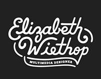Wiethop Typographic Logo