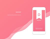 Dear Diary ios app concept