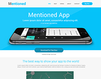 Mentioned App Design