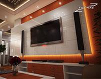 Design intérieur appartement luxe par FOXNAS