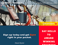 Protect America Email Blast Concept