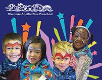 Blue Lake Preschool – Fundraising Brochure