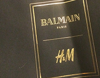 H&M / Balmain | WINK