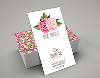 Rose Princess Business Card