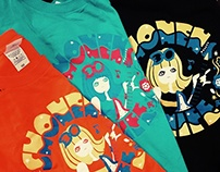 Shonen Knife Tee shirt
