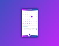 Daily UI #038 — Calendar