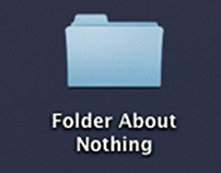 Folder About Nothing