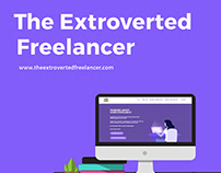 Theextrovertedfreelancer - Website Design