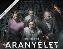 HBO - Aranyélet 3. /Goldenlife KeyArt,Characters,Poster
