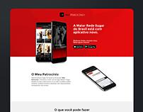 Meu Patrocínio - App Landing Page Download