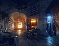 2D Environment.Inspired by Batman.