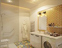 Amine Project Apartment bathroom